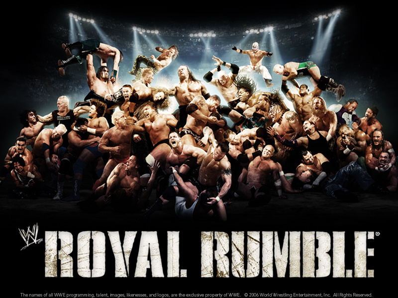Royal Rumble play by play