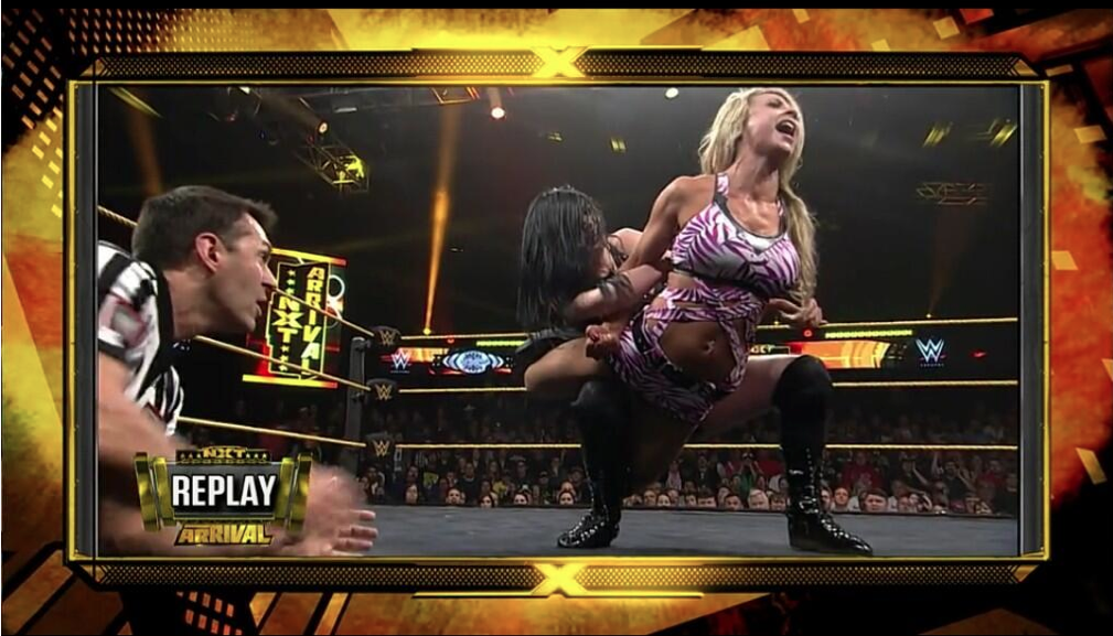 NXT arRIVAL play by play