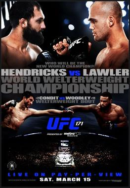 UFC 171 play by play