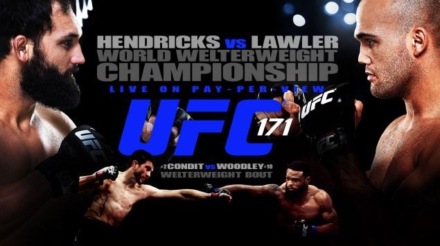 UFC 171 preview