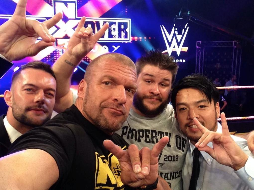 Triple H selfie
