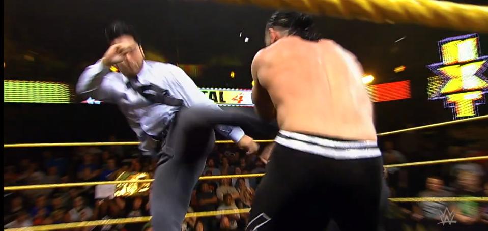 Kenta on NXT