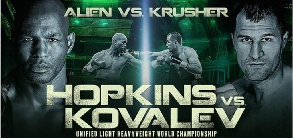Hopkins vs Kovalev live