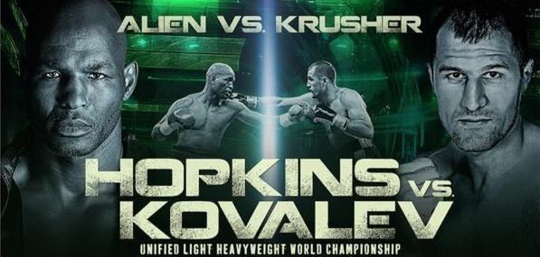 Hopkins vs Kovalev