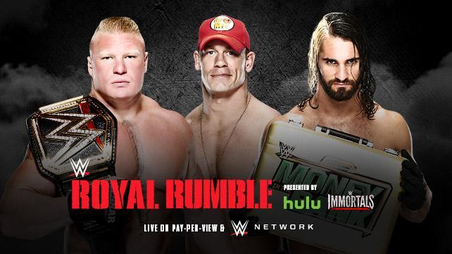 Royal Rumble live