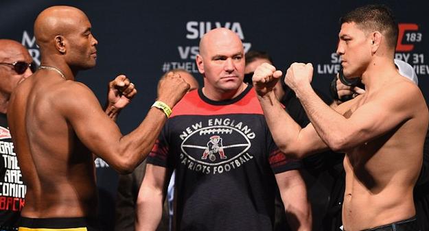 UFC 183 live