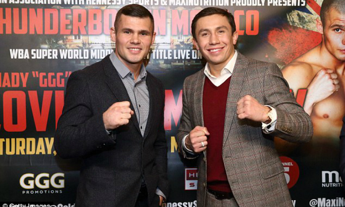Golovkin and Murray