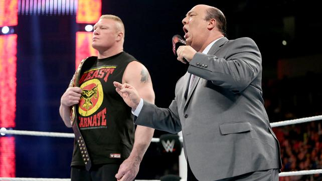 Paul Heyman tried his best