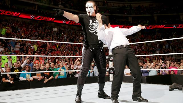Sting and Randy Orton stand tall