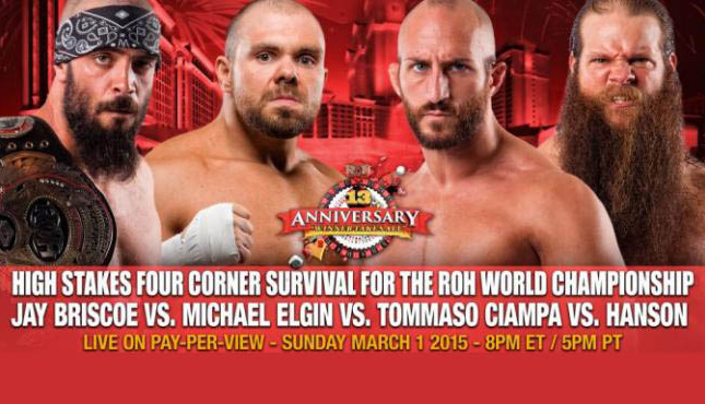 ROH 13th Anniversary Show Live Coverage