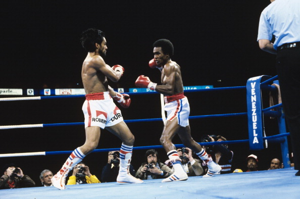 Sugar Ray Leonard vs Roberto Duran