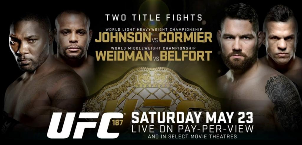 UFC 187 preview