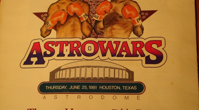Leonard and Hearns at the Astrodome