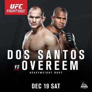 Dos Santos vs Overeem