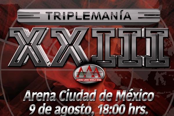 Triplemania 23 countdown
