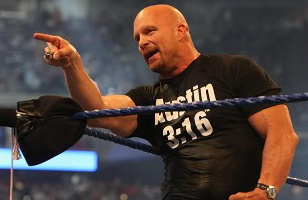 Steve Austin says he's not facing Brock Lesnar