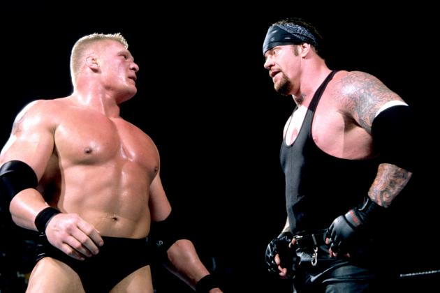Brock Lesnar Vs The Undertaker At No Mercy 2003