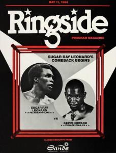 Sugar Ray Leonard's comeback