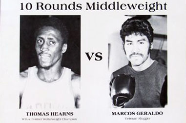 Hearns vs Geraldo