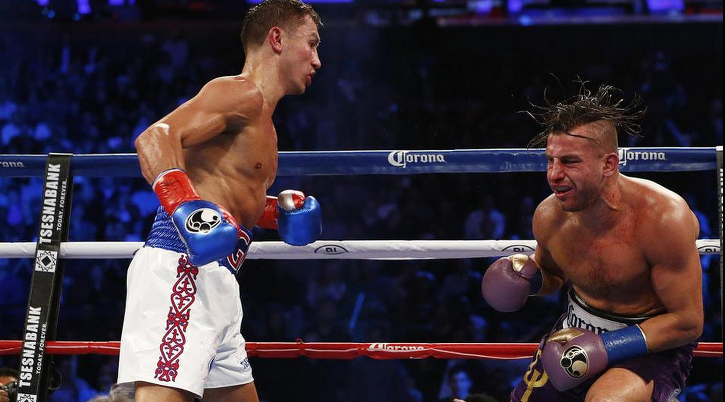 Golovkin wins by TKO