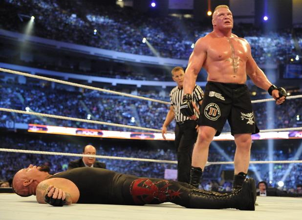 Brock Lesnar Vs The Undertaker At WrestleMania 30