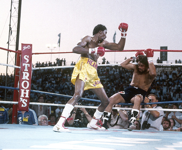 Hearns vs Duran
