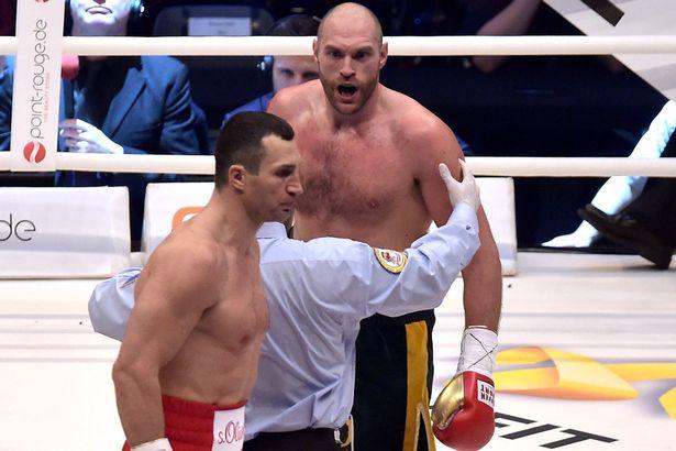 Tyson Fury is the new heavyweight champion