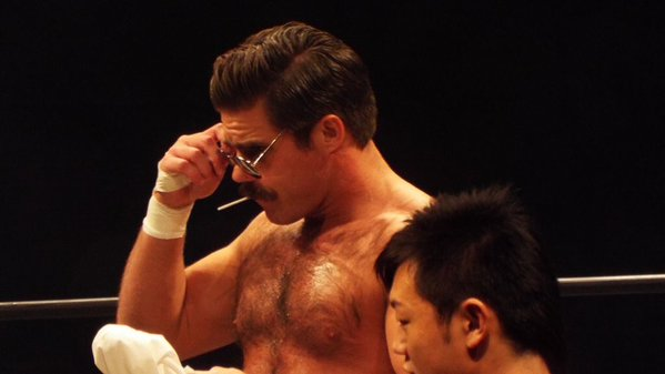 Joey Ryan's testicular strength