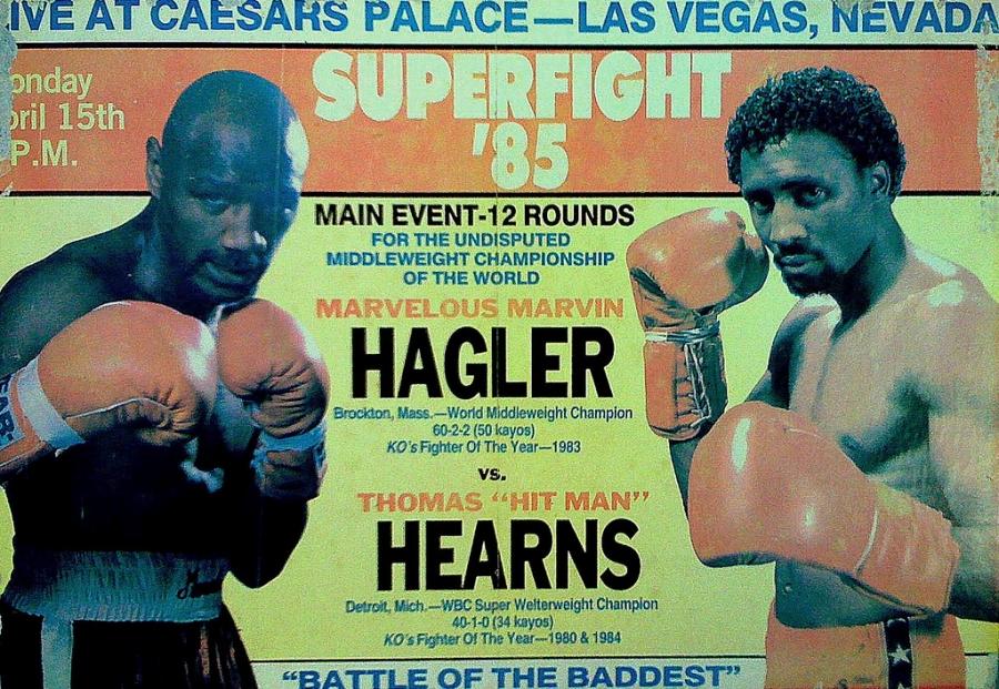 Hagler vs Hearns