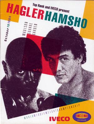 Marvin Hagler vs Mustafa Hamsho 2