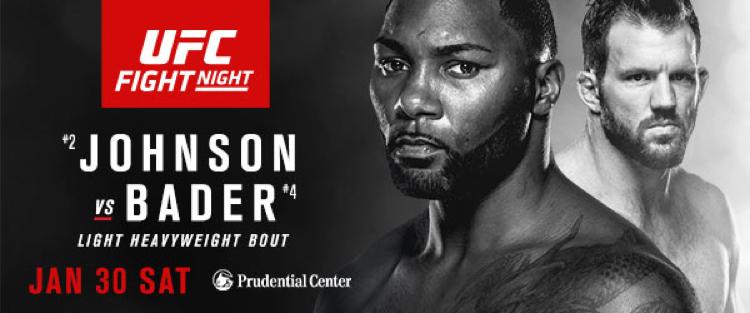 Johnson vs Bader live