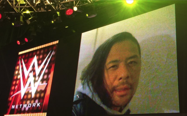 Nakamura's NXT debut