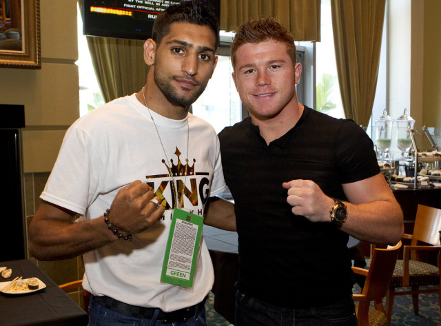 Canelo Alvarez will fight Amir Khan