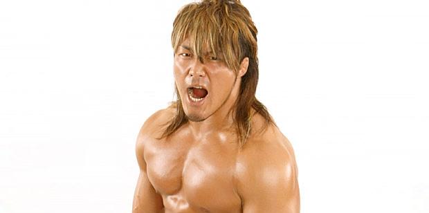 Hiroshi Tanahashi Injures His Shoulder