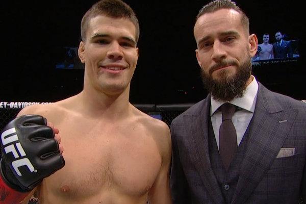 CM Punk announces his UFC debut