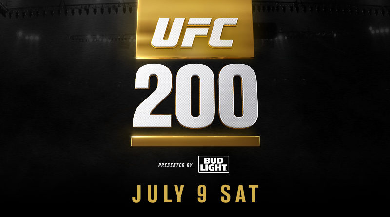 UFC 200 week