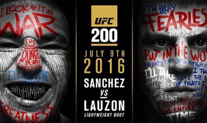 UFC 200 fight pass prelims