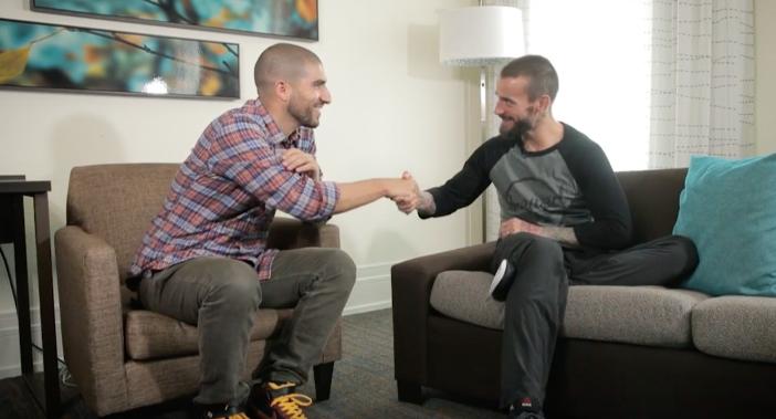 Ariel Helwani interviews CM Punk