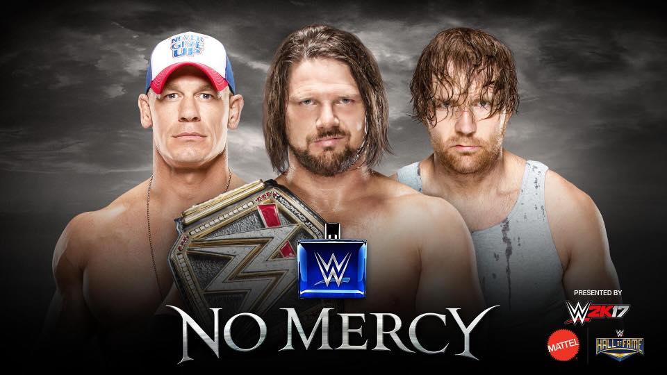 No Mercy live coverage