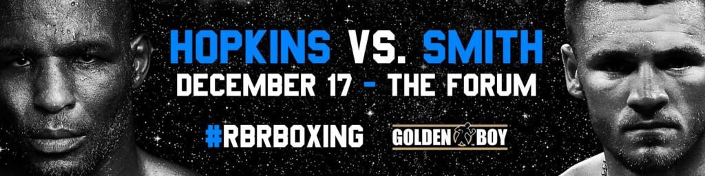 Bernard Hopkins vs Joe Smith Jr.