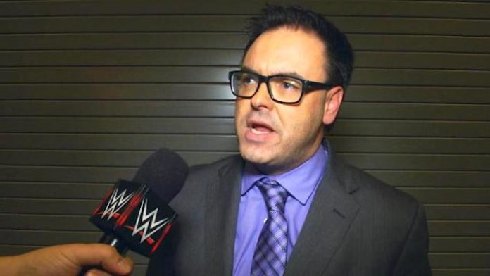 Mauro Ranallo is staying with WWE