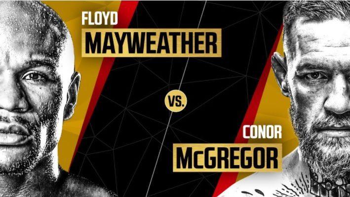 Mayweather vs McGregor LA press conference
