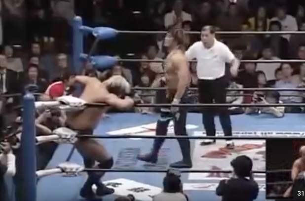 Hiroshi Tanahashi Vs Suwama