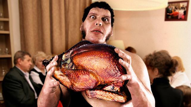 thanksgiving wrestling