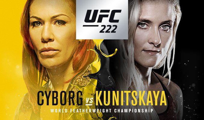 UFC 222 live coverage