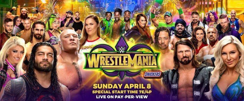 WrestleMania 34 live coverage