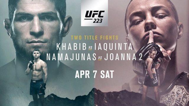 UFC 223 live coverage