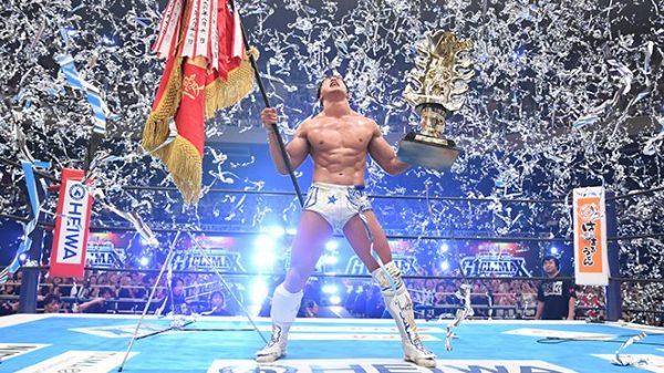 Kota Ibushi wins the G1