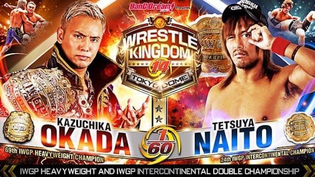 Wrestle Kingdom 14 night two live coverage