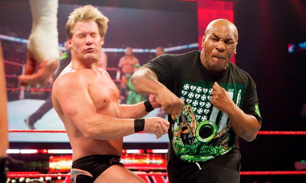 Mike Tyson vs Chris Jericho